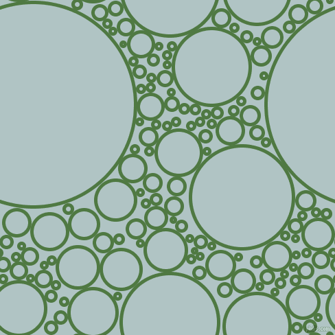 bubbles, circles, sponge, big, medium, small, 5 pixel line width, Fern Green and Jungle Mist circles bubbles sponge soap seamless tileable