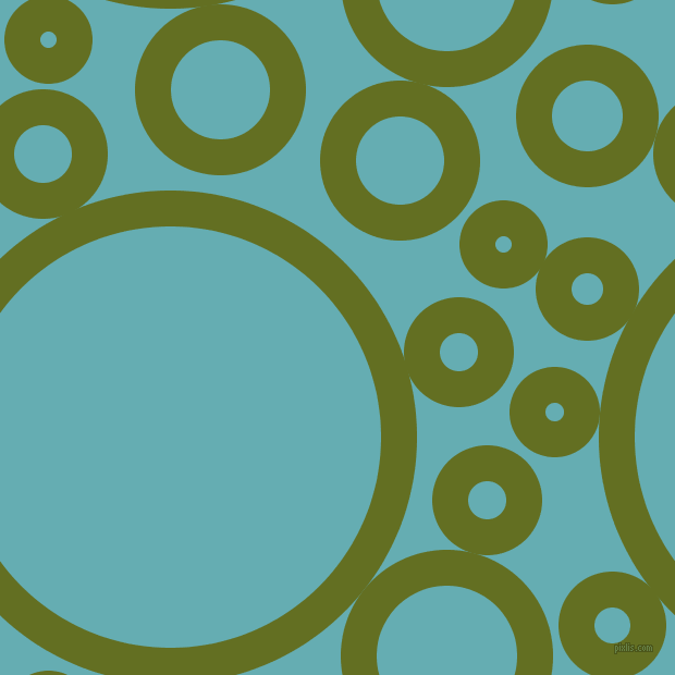 bubbles, circles, sponge, big, medium, small, 33 pixel line width, Fiji Green and Fountain Blue circles bubbles sponge soap seamless tileable