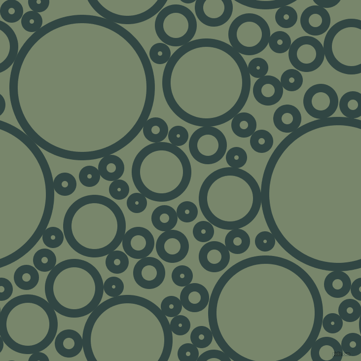 bubbles, circles, sponge, big, medium, small, 17 pixel line width, Firefly and Camouflage Green circles bubbles sponge soap seamless tileable