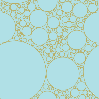 bubbles, circles, sponge, big, medium, small, 2 pixel line width, Gimblet and Powder Blue circles bubbles sponge soap seamless tileable