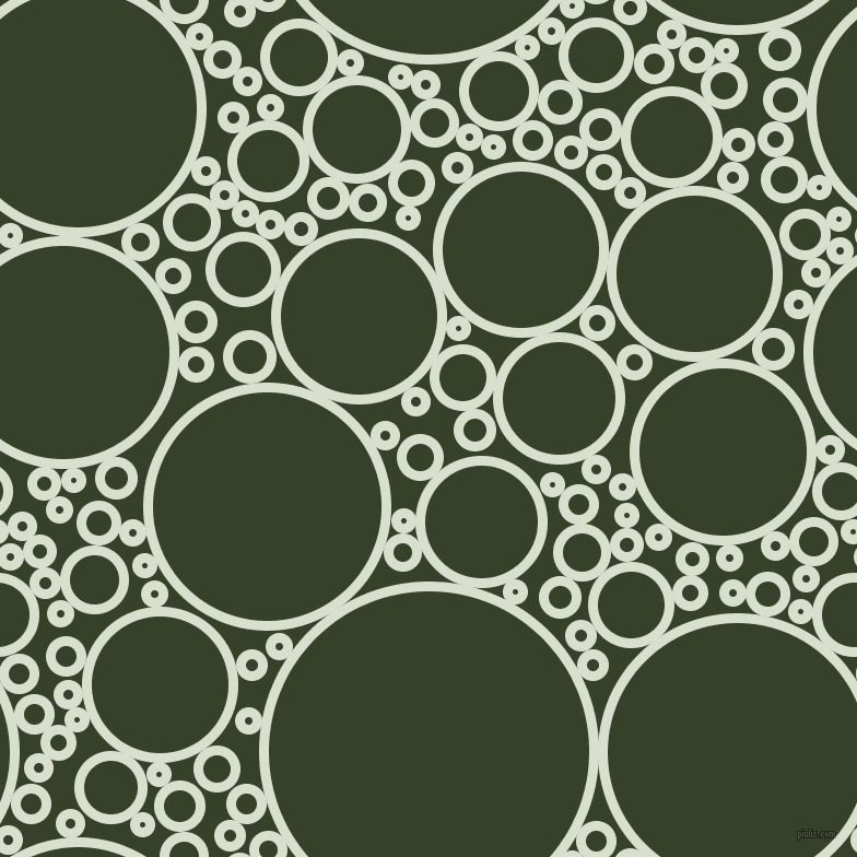 bubbles, circles, sponge, big, medium, small, 9 pixel line widthGin and Seaweed circles bubbles sponge soap seamless tileable