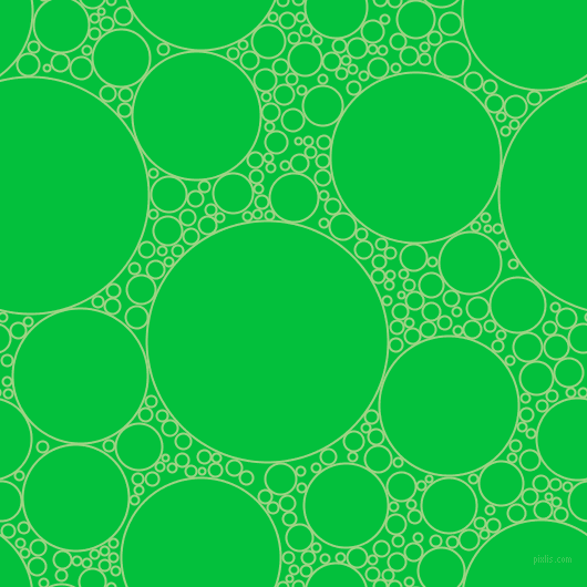 bubbles, circles, sponge, big, medium, small, 2 pixel line width, Gossip and Dark Pastel Green circles bubbles sponge soap seamless tileable