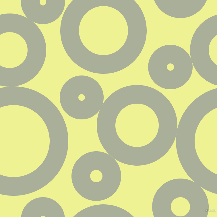 bubbles, circles, sponge, big, medium, small, 65 pixel line width, Green Spring and Jonquil circles bubbles sponge soap seamless tileable