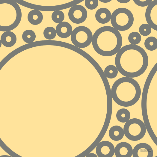 bubbles, circles, sponge, big, medium, small, 17 pixel line width, Gunsmoke and Cream Brulee circles bubbles sponge soap seamless tileable