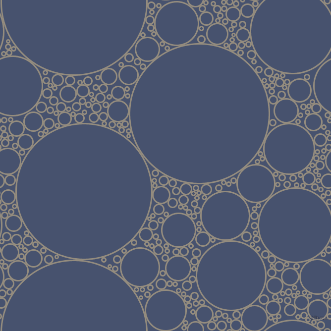 bubbles, circles, sponge, big, medium, small, 3 pixel line width, Heathered Grey and East Bay circles bubbles sponge soap seamless tileable