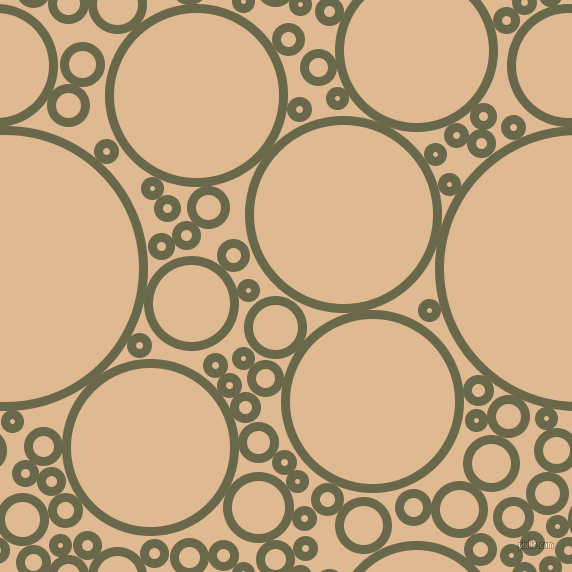 bubbles, circles, sponge, big, medium, small, 9 pixel line width, Hemlock and Pancho circles bubbles sponge soap seamless tileable