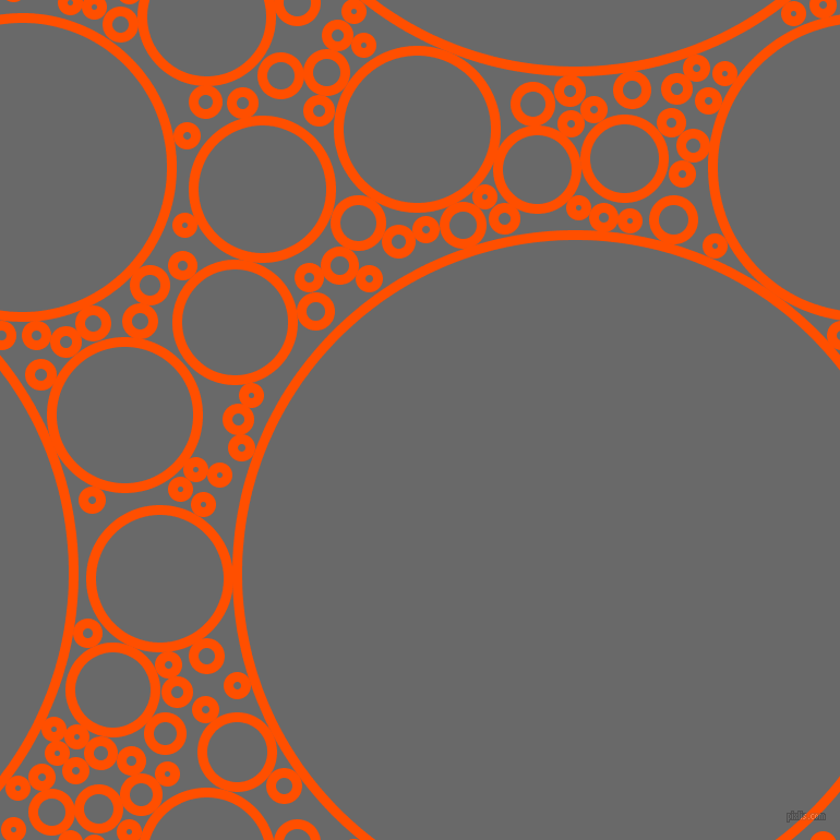 Grey And Orange >> International Orange And Dim Gray Circles Bubbles Sponge Soap