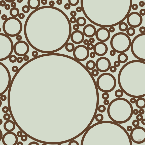 bubbles, circles, sponge, big, medium, small, 9 pixel line width, Irish Coffee and Ottoman circles bubbles sponge soap seamless tileable