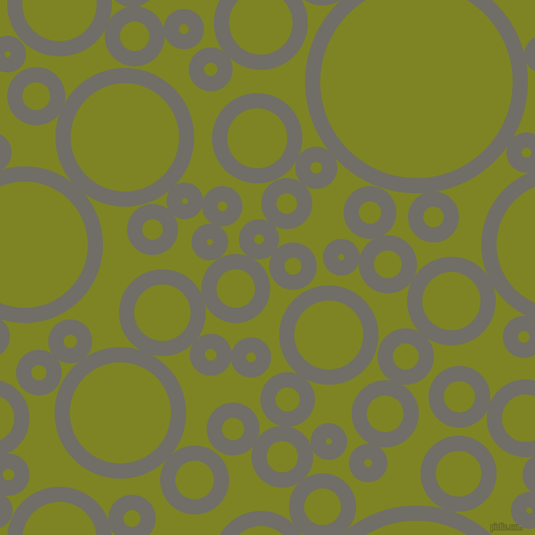 bubbles, circles, sponge, big, medium, small, 17 pixel line width, Ironside Grey and Trendy Green circles bubbles sponge soap seamless tileable