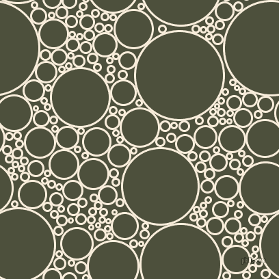 bubbles, circles, sponge, big, medium, small, 3 pixel line width, Island Spice and Kelp circles bubbles sponge soap seamless tileable