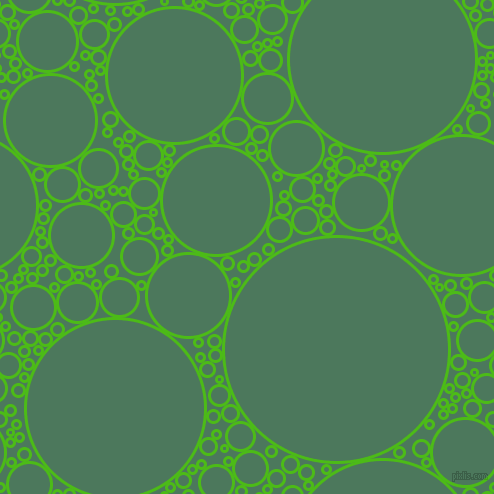 bubbles, circles, sponge, big, medium, small, 3 pixel line width, Kelly Green and Como circles bubbles sponge soap seamless tileable