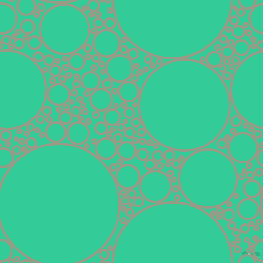 bubbles, circles, sponge, big, medium, small, 5 pixel line width, Lemon Grass and Shamrock circles bubbles sponge soap seamless tileable
