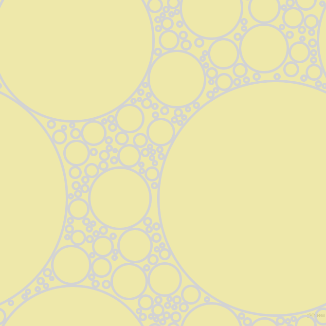 bubbles, circles, sponge, big, medium, small, 5 pixel line width, Light Grey and Pale Goldenrod circles bubbles sponge soap seamless tileable