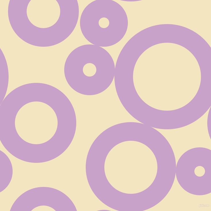bubbles, circles, sponge, big, medium, small, 65 pixel line width, Lilac and Milk Punch circles bubbles sponge soap seamless tileable