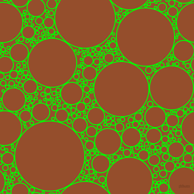 bubbles, circles, sponge, big, medium, small, 3 pixel line width, Lime and Alert Tan circles bubbles sponge soap seamless tileable