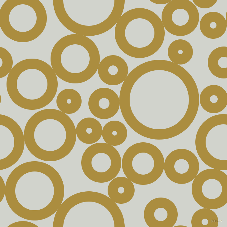 bubbles, circles, sponge, big, medium, small, 33 pixel line width, Luxor Gold and Grey Nurse circles bubbles sponge soap seamless tileable