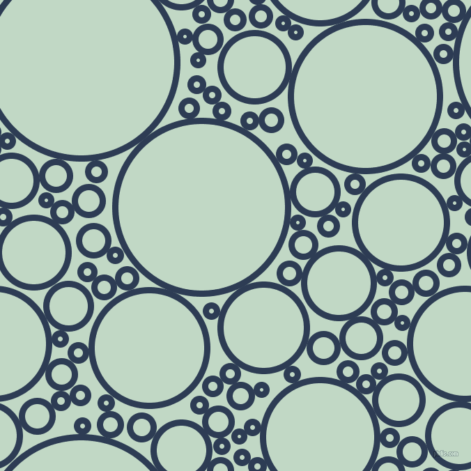 bubbles, circles, sponge, big, medium, small, 9 pixel line width, Madison and Edgewater circles bubbles sponge soap seamless tileable