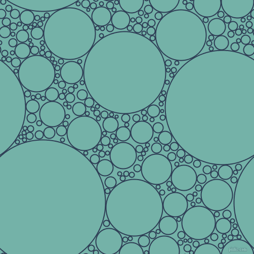bubbles, circles, sponge, big, medium, small, 2 pixel line width, Madison and Gulf Stream circles bubbles sponge soap seamless tileable
