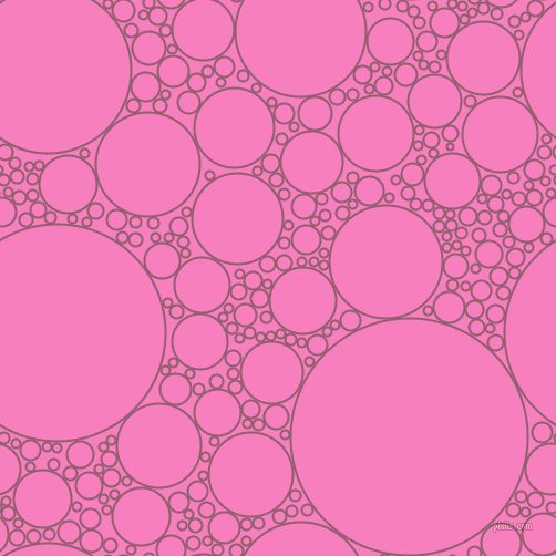 bubbles, circles, sponge, big, medium, small, 2 pixel line width, Mauve Taupe and Persian Pink circles bubbles sponge soap seamless tileable