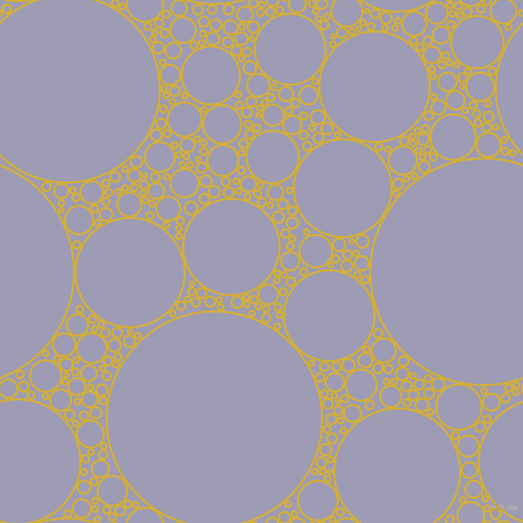 bubbles, circles, sponge, big, medium, small, 3 pixel line width, Metallic Gold and Logan circles bubbles sponge soap seamless tileable