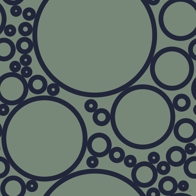bubbles, circles, sponge, big, medium, small, 17 pixel line width, Midnight Express and Davy