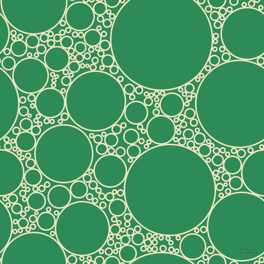 bubbles, circles, sponge, big, medium, small, 3 pixel line width, Milk Punch and Sea Green circles bubbles sponge soap seamless tileable