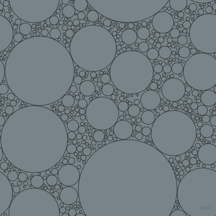 bubbles, circles, sponge, big, medium, small, 2 pixel line width, Mine Shaft and Regent Grey circles bubbles sponge soap seamless tileable
