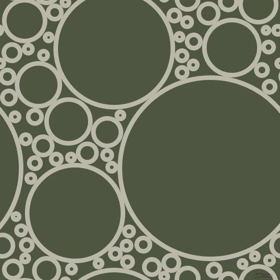 bubbles, circles, sponge, big, medium, small, 9 pixel line width, Mist Grey and Lunar Green circles bubbles sponge soap seamless tileable