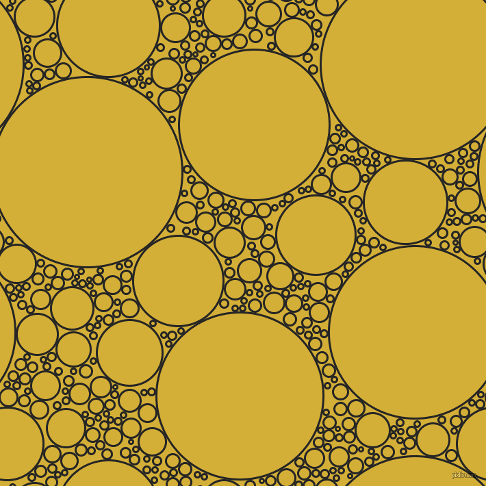bubbles, circles, sponge, big, medium, small, 3 pixel line width, Nero and Metallic Gold circles bubbles sponge soap seamless tileable