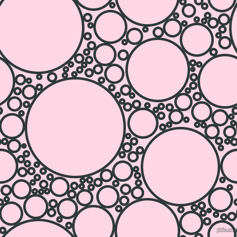 bubbles, circles, sponge, big, medium, small, 5 pixel line width, Outer Space and Pig Pink circles bubbles sponge soap seamless tileable