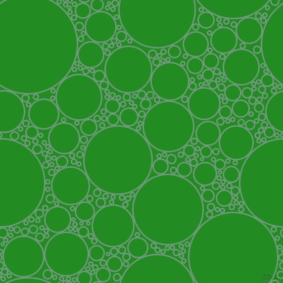 bubbles, circles, sponge, big, medium, small, 3 pixel line width, Oxley and Forest Green circles bubbles sponge soap seamless tileable