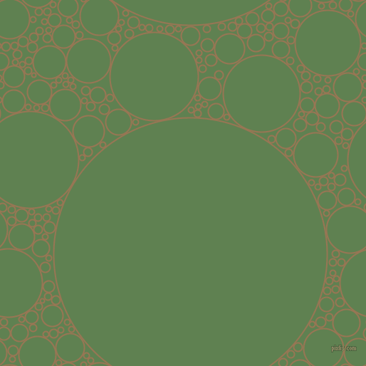 bubbles, circles, sponge, big, medium, small, 2 pixel line width, Pale Brown and Glade Green circles bubbles sponge soap seamless tileable