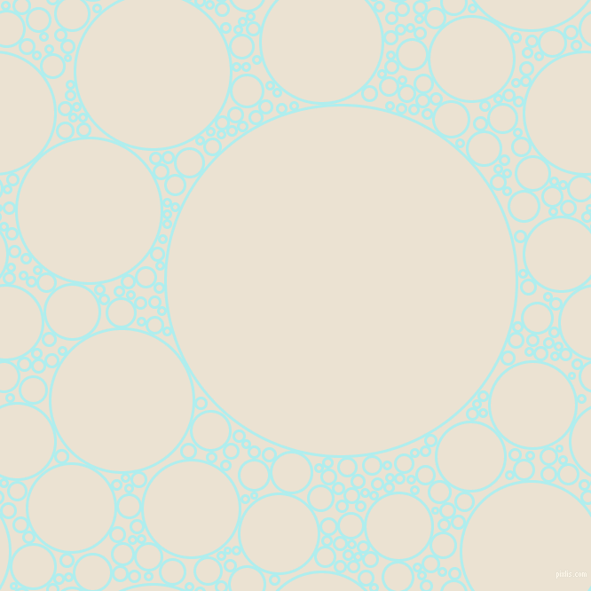 bubbles, circles, sponge, big, medium, small, 3 pixel line widthPale Turquoise and Quarter Spanish White circles bubbles sponge soap seamless tileable