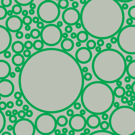 bubbles, circles, sponge, big, medium, small, 9 pixel line width, Pigment Green and Tasman circles bubbles sponge soap seamless tileable