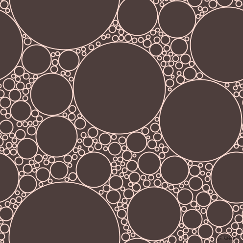 bubbles, circles, sponge, big, medium, small, 2 pixel line width, Pippin and Crater Brown circles bubbles sponge soap seamless tileable
