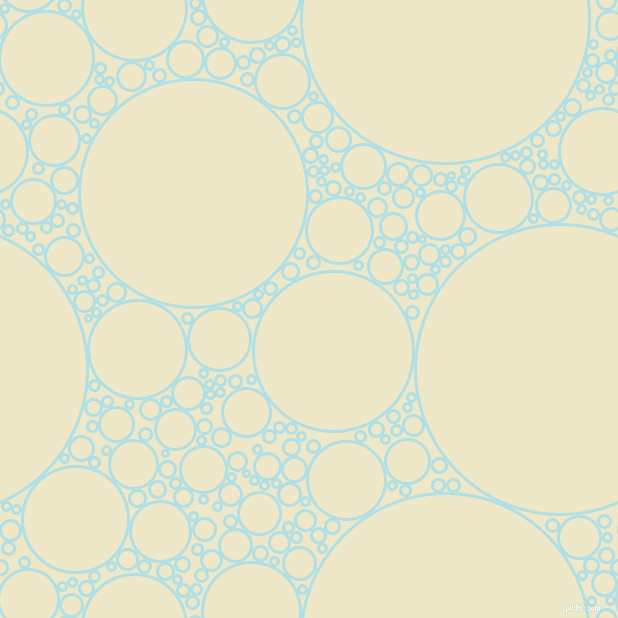 bubbles, circles, sponge, big, medium, small, 3 pixel line width, Powder Blue and Scotch Mist circles bubbles sponge soap seamless tileable