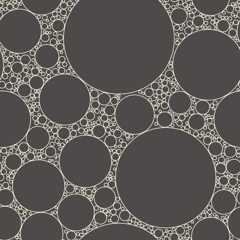 bubbles, circles, sponge, big, medium, small, 2 pixel line width, Promenade and Emperor circles bubbles sponge soap seamless tileable