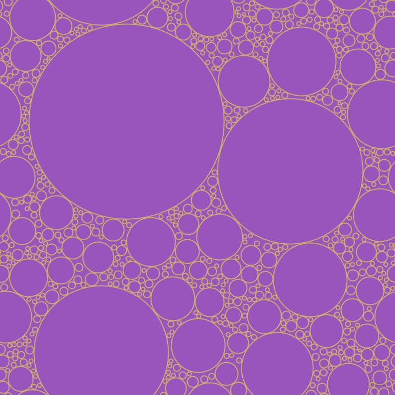 bubbles, circles, sponge, big, medium, small, 2 pixel line width, Putty and Deep Lilac circles bubbles sponge soap seamless tileable