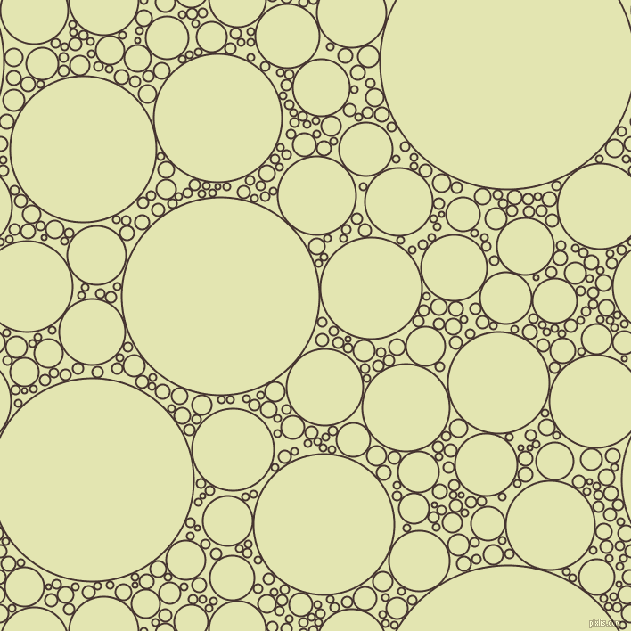 bubbles, circles, sponge, big, medium, small, 2 pixel line width, Rebel and Tusk circles bubbles sponge soap seamless tileable