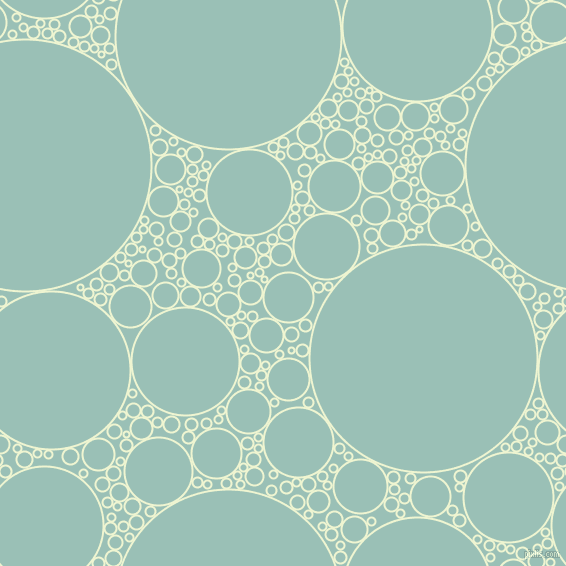 bubbles, circles, sponge, big, medium, small, 2 pixel line width, Rice Flower and Shadow Green circles bubbles sponge soap seamless tileable