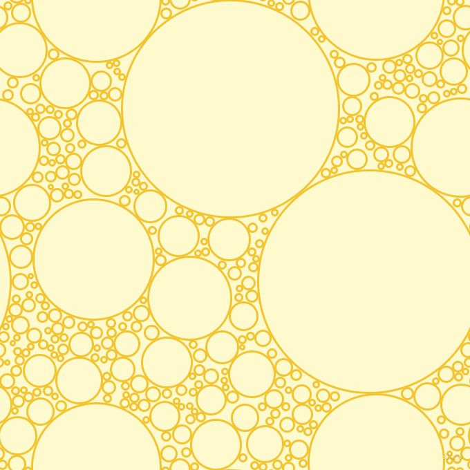 bubbles, circles, sponge, big, medium, small, 3 pixel line widthSaffron and Lemon Chiffon circles bubbles sponge soap seamless tileable