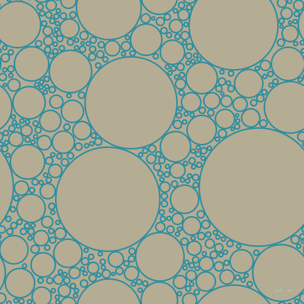 bubbles, circles, sponge, big, medium, small, 3 pixel line width, Scooter and Bison Hide circles bubbles sponge soap seamless tileable