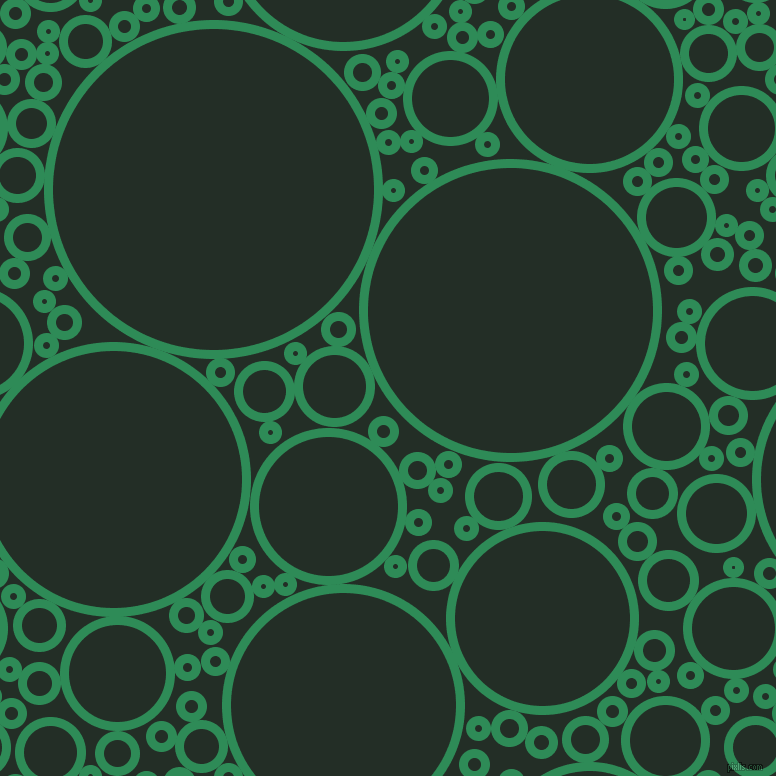 bubbles, circles, sponge, big, medium, small, 9 pixel line width, Sea Green and Black Bean circles bubbles sponge soap seamless tileable
