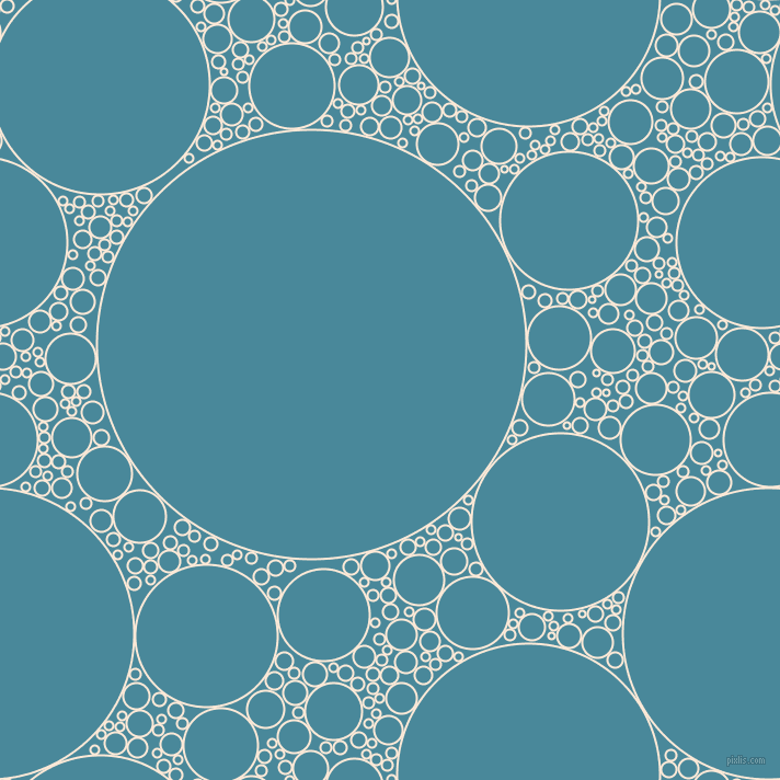 bubbles, circles, sponge, big, medium, small, 2 pixel line width, Serenade and Hippie Blue circles bubbles sponge soap seamless tileable