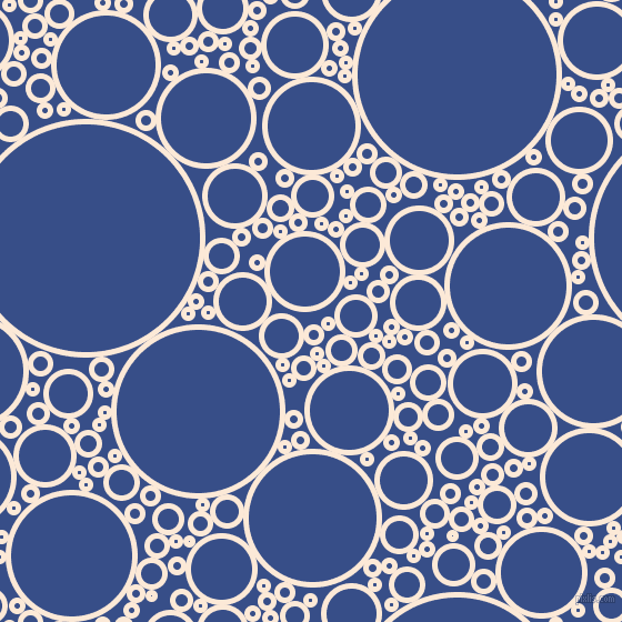 bubbles, circles, sponge, big, medium, small, 5 pixel line width, Serenade and Tory Blue circles bubbles sponge soap seamless tileable
