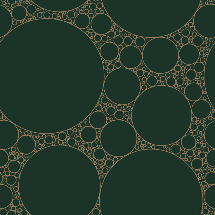 bubbles, circles, sponge, big, medium, small, 2 pixel line width, Sorrell Brown and Cardin Green circles bubbles sponge soap seamless tileable