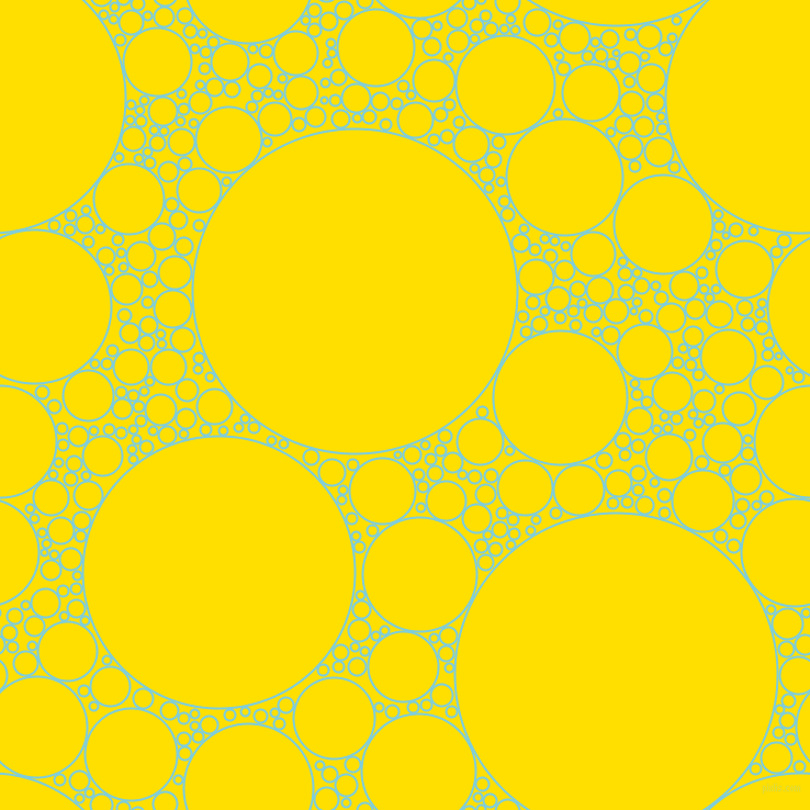 bubbles, circles, sponge, big, medium, small, 2 pixel line width, Spray and Golden Yellow circles bubbles sponge soap seamless tileable