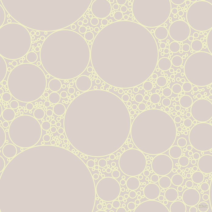 bubbles, circles, sponge, big, medium, small, 3 pixel line width, Spring Sun and Swiss Coffee circles bubbles sponge soap seamless tileable