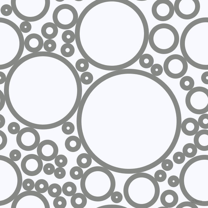 bubbles, circles, sponge, big, medium, small, 17 pixel line width, Stack and Ghost White circles bubbles sponge soap seamless tileable