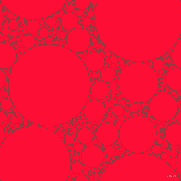 bubbles, circles, sponge, big, medium, small, 2 pixel line width, Stiletto and Torch Red circles bubbles sponge soap seamless tileable
